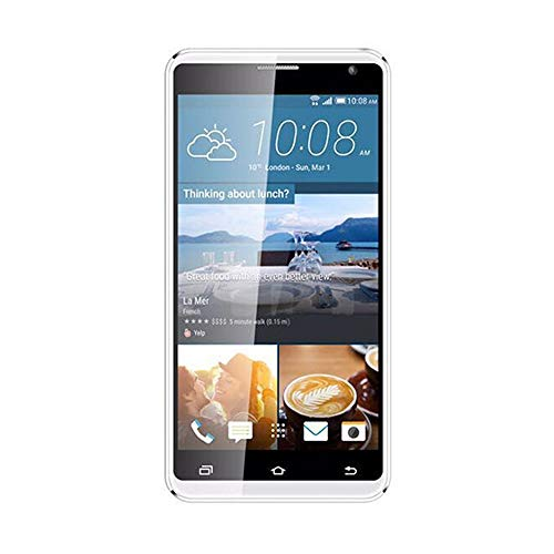 Günstiges Handy, 5,5 Zoll Bildschirmanzeige, Unlocked Smartphone, 2.0 MP + 5.0 MP Kamera, 2800 mAh Akku Core AT & T T-Mobile 3G 4 GB 2SIM Android-Handy (Silber) - 4g T-mobile Android-handy