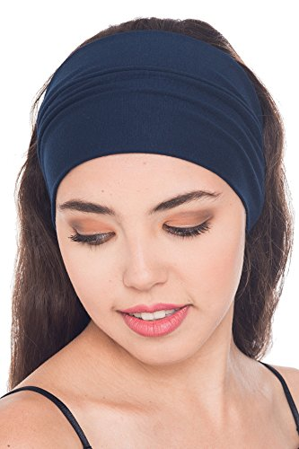 cotton-soft-unisex-headband-extra-wide-navy