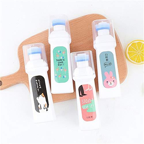 0ca664066e8e6 HGJVBFGH1 Portable Size Magic Refreshed White Shoe Cleaner Cream  Decontamination Random
