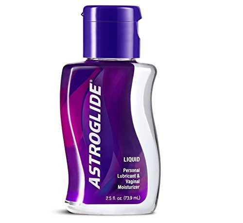 Astroglide Liquid Personal Lubricant Water-based Water-soluble Condom-compatible Long-lasting Silky Smooth: Size 2.5 Oz. / 73.9 Ml. by Astroglide