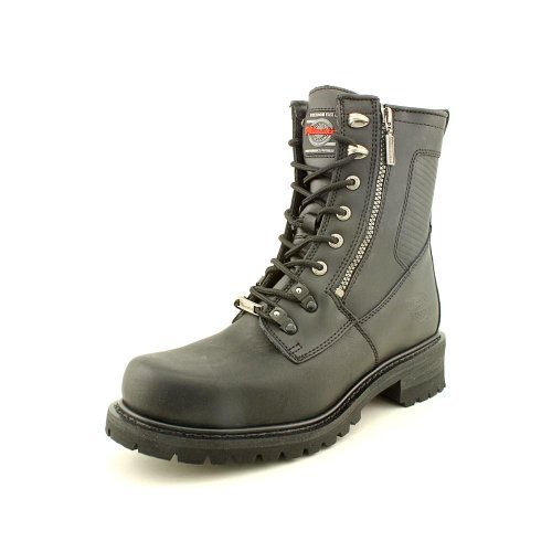 milwaukee-motorcycle-clothing-company-trooper-leather-mens-motorcycle-boots-black-size-9d-by-milwauk