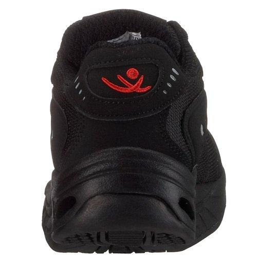 Chung Shi Comfort Step Sport Damen 9100, Damen Sportschuhe - Walking Schwarz (Black)