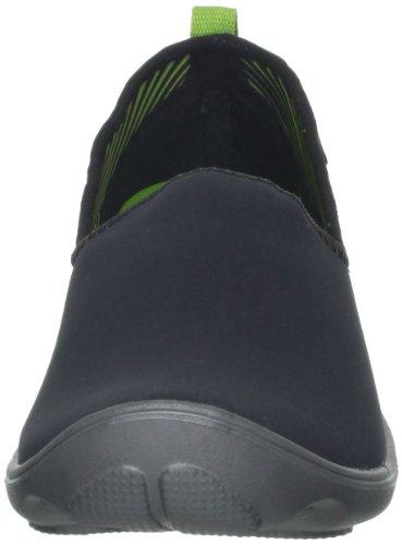 CrocsDuet Sport Skimmer - Mocassini donna Nero (Black/Graphite)
