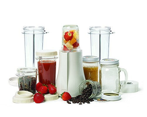 Tribest PB-350XL-A Mason Jar Personal Blender with X-Large Cups, White by Tribest