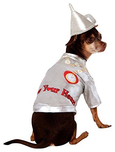 rer von Oz Collection Pet Kostüm (Tin Man Kostüm Zauberer Von Oz)