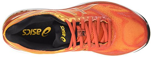 Asics T700n0604, Chaussures de Running Compétition Homme Rouge (Red Clay / Gold Fusion / Phantom)