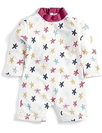 Mamas & Papas Starfish Rash Suit, Traje de Baño de Una Pieza para Bebés
