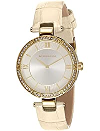 Giordano Analog Silver Dial Women's Watch - A2039-02