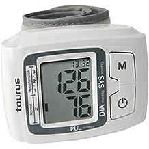 Taurus - Tensiómetro Tensio, 90 Memorias, Para Pulso Y Presion, De Muñeca