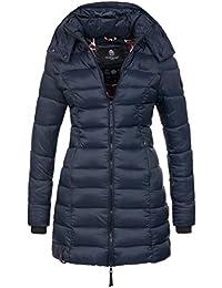 Marikoo Herbst Winter Übergangs Steppmantel Jacke Mantel gesteppt B603
