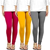 Swastik Stuffs Women's Cotton Lycra Leggings Combo Offer for Women | Leggings for Women | Leggings Combo Pack| Leggings…