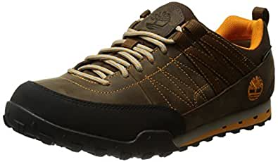 Timberland Greeley Ftp_greeley Approach Low Leather Gtx, Chaussons Sneaker Homme, Bleu (brown), 43.5