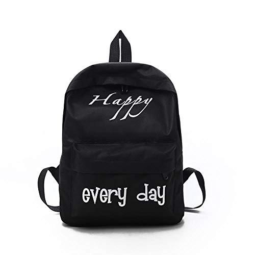 Travel Pour Letters School Student 2018 New Ordinateur Fashion Bag À Female Canvas Sacs Middle Shoulder Korean Dos Portable dBsrCxthQ