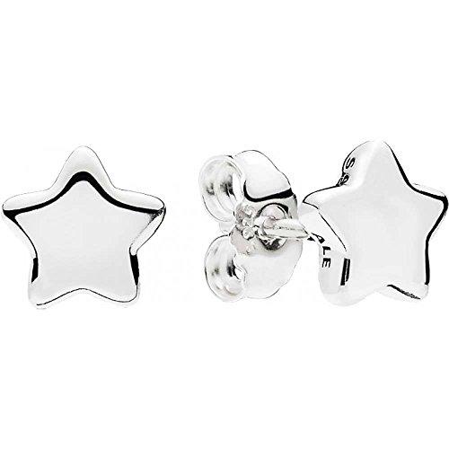 Pandora orecchini a perno donna argento - 296374