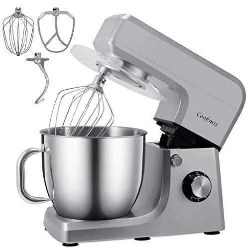 Cookmii 1800W Batidora Amasadora Repostería Profesional Robot de Cocina Automática Multifuncional...