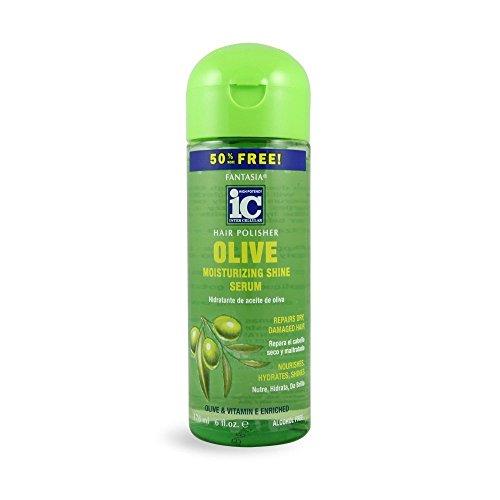 Fantasia Ic Polisher 118 ml + 59 ml Olive Serum (Haar Ganzmittel) - Fantasia Ic Hair Polisher Olive