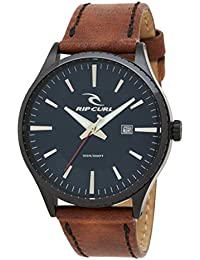 Rip Curl 2017 Agent Midnight Leather Strap Watch NAVY A3014