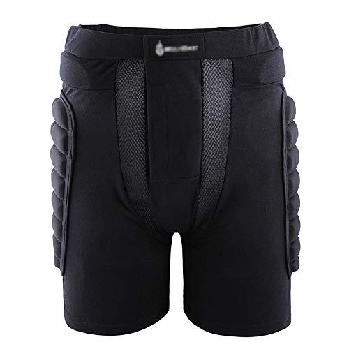 LSJZS Schutzausrüstung 3D Gepolsterte Auswirkungen Butt Shorts Hosen für Ski Snowboard Skateboard Radfahren Kinder Frauen Männer,XL -