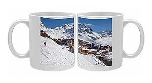 Mug Photo de Val Thorens station de ski, 2300 m, dans Les Trois Valleys (Les Trois Vallees)