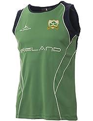 Irlanda Rugby Seguidores Chalecos S–XXXXL Olorun irlandés Rugby verde chaleco, XL