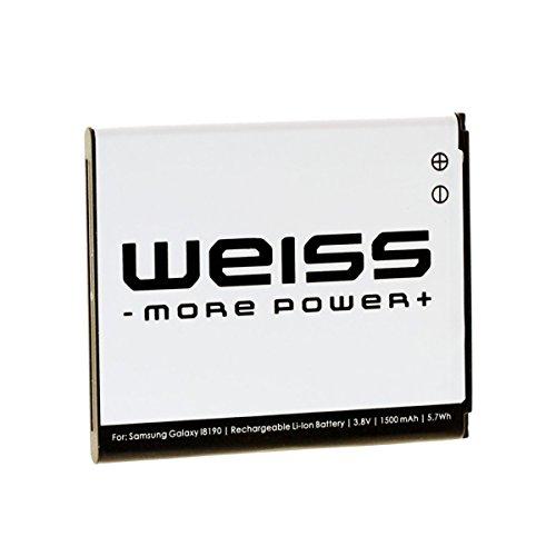 Akku für Samsung S3 mini | EB425161LU - EBF1M7FLU – EB-B130BE | Ace 2/4 – Duos/2 – Trend Plus/Lite/Trend 2 | WEISS - More Power +