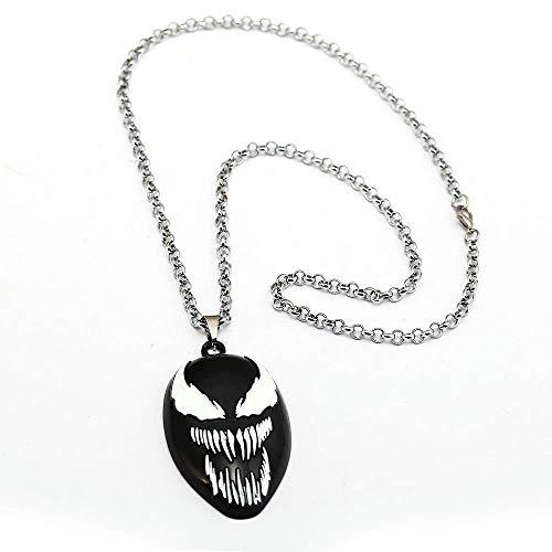 Venom WoloShop Colgante Rostro Marvel Figura (Escudo)