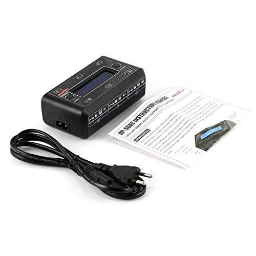 Comomingo Ultra Power UP-S6 LiPo / LiHV-Akku Micro JST MX mCPX-Ladegerät 3,7 V (Schwarz) - Akku Mcpx