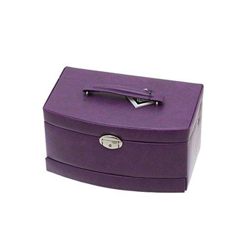 Coffret à Bijoux Violet Femme Davidt's