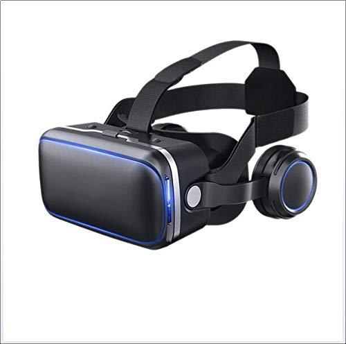 SPELL PC Virtual Reality Headsets, 3D-VR-Brille Für Handy-Spiele Und Filme Kompatibel Mit Allen 4,7-6,0 Zoll Smartphones Für IOS Android Phone