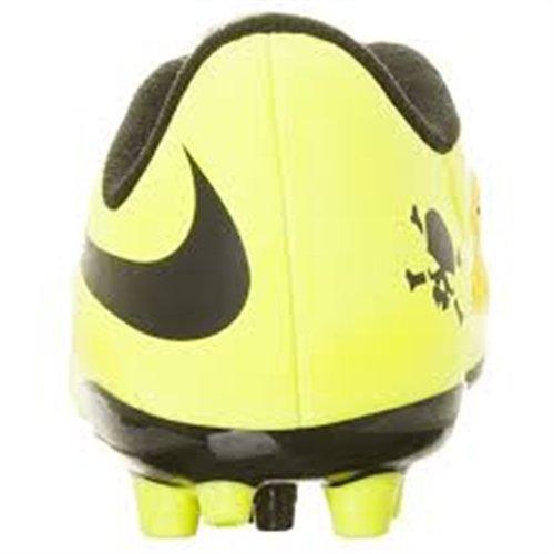 Nike JR Hypervenom Phelon AG Stivali Amarillo / Verde / Negro