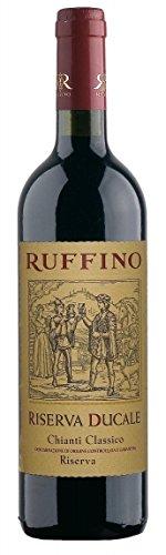 Chianti-wein-flasche (Ruffino Riserva Ducale Chianti Classico Riserva DOCG 2013 - (0,75 L Flaschen))