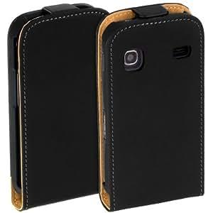 Yayago Flip-New-Style Tasche -Ultra Flach- für Ihr Samsung Galaxy Gio S5660 inkl. dem Original Yayago Clean-Pad