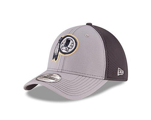 "Washington Redskins New Era NFL 39THIRTY ""Grayed Out Neo 2"" Flex Fit Hat Hut"