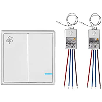 Acegoo Wireless Lights Switch Kit No Wiring No Battery Quick
