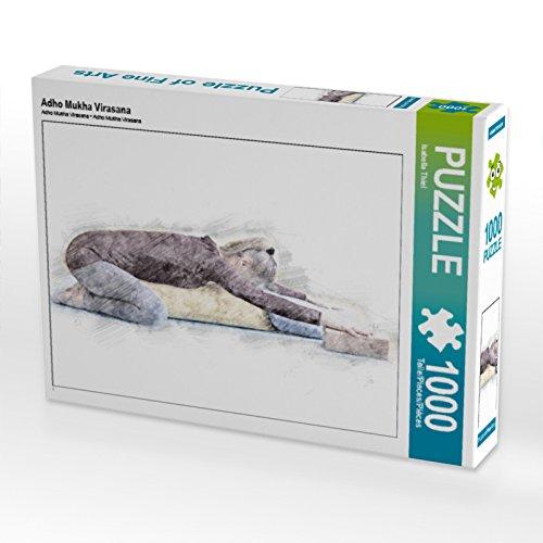 Preisvergleich Produktbild CALVENDO Puzzle Adho Mukha Virasana 1000 Teile Lege-Größe 64 x 48 cm Foto-Puzzle Bild von Isabella Thiel