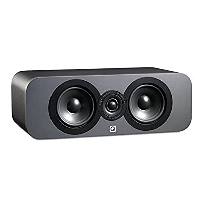 Q.Acoustics QA3090 Centre Speaker for All Devices, Graphite from Q.ACOUSTICS