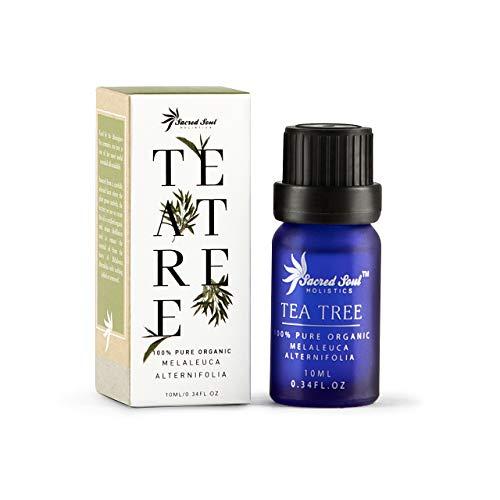 Sacred Soul 100% reines australisches Teebaumöl - 10 ml - GCMS getestet - einheimische Pflanzen - ideal für die Aromatherapie