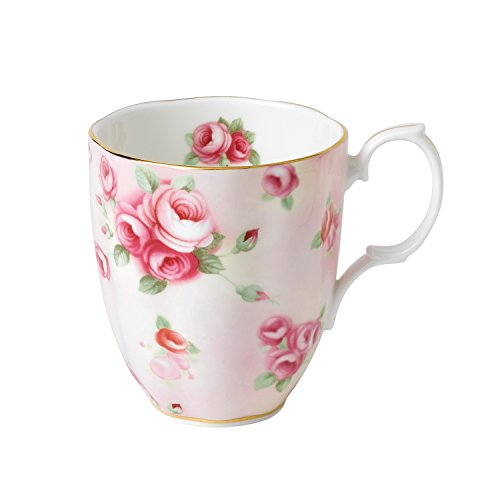 Royal Albert 100 Years by 1980 Rose Blush Tasse, Rosa, Fassungsvermögen 0,4 l -