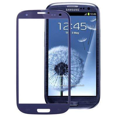 ustausch Glas Scheibe Touch Samsung Galaxy für S3 I9300 I9305 Blau Frontglas ()