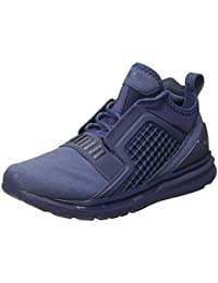 Puma Men's Ignite Limitless Brushed Suede Running Shoes