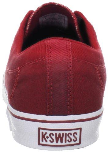 K-Swiss Clean Laguna Cvs Fade Vnz-M, Baskets mode homme Rouge (Red/Merlot/White)