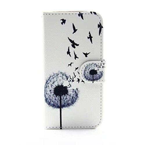 """Sunroyal iPhone 6/6S 4.7""""Hülle im Bookstyle, PU Leder Flip Wallet Case Schutzhülle für Apple iPhone 6/6S 4.7"""" Tasche Handytasche mit Magnetverschluss Kartenfach Standfunktion Muster Handyhülle + 1 x S Pattern 14"""