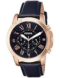 Fossil Analog Blue Dial Men's Watch - FS4835