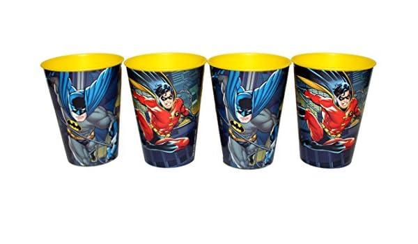 Becher DC Batman u Robin Comic Trinkbecher Saftbecher Zahnputzbecher Party