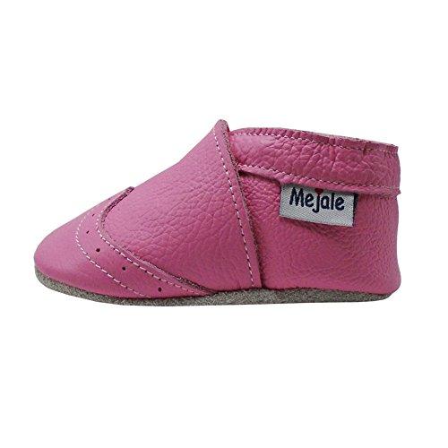 Mejale Chaussons Cuir Souple Chaussures Cuir Souple Chaussons enfants pantoufles Chaussures Premiers Pas Rose
