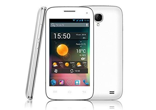 Storex DC35G 4GB Color blanco - Smartphone (SIM doble, Android, EDGE, GPRS, GSM, HSPA, WCDMA, Micro-USB,