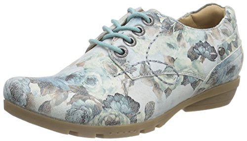 Marc Shoes Zarah Ii, Derby femme Multicolore - Mehrfarbig (lt.grey-multicolour 901)