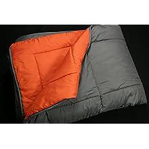 RELLENO NÓRDICO BICOLOR COLORES REVERSIBLE 200gr (150x220 para una cama de 90, Naranja/Gris)