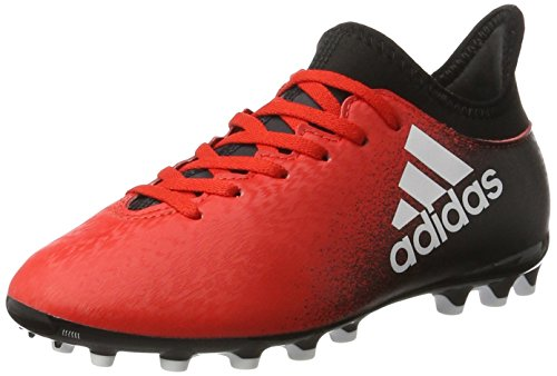 adidas Jungen X 16.3 Ag J Fußballschuhe Mehrfarbig (Red/ftwwht/cblack)