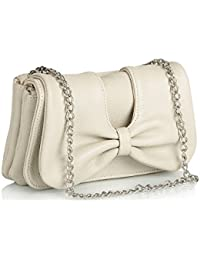 Butterflies Women's Clutch Sling Bag ( Off-White,BNS 2193)